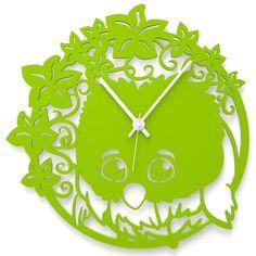 Wall Clock OWL PAULA by Wandkings
