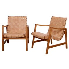 Jens Risom 652 W Arm Chairs for Knoll  c1940/50's