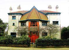Villa by architect Henry van de Velde (1863-1957)