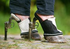 Wow! Have you ever seen such shoes before? Sometimes creativity goes too far...