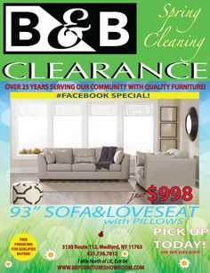 B&b Furniture, Quality Furniture, Clearance Furniture, Loveseat Sofa, Love Seat