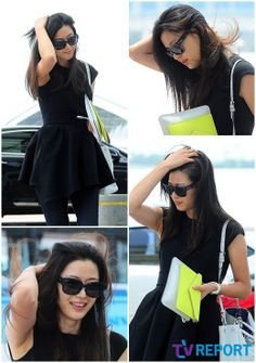 jun ji hyun / fashion Korean Actresses, Korean Actors, Korean Celebrities, Celebs, Jun Ji Hyun Fashion, Claudia Kim, My Sassy Girl, Airport Style, Airport Fashion