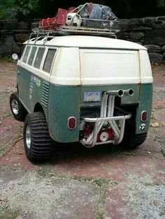 Volkswagen off road adventure bus