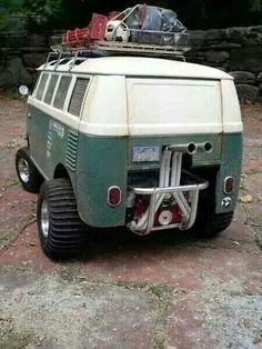 Volkswagen off road adventure bus