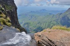 Tugela Falls, South Africa Namibia, Best Hikes, Dream Vacations, Continents, Waterfalls, Diversity, Rivers, The Great Outdoors, Places To See