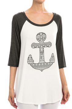 Super Cute Anchor Shirt! #shepaisy