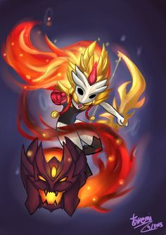 Chibi Shadowfire Kindred by KemiKuri on DeviantArt