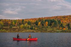 10.16 morning canoe on blueberry lake