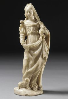 A Flemish alabaster group of the Madonna and Child, mid 16th century. | © 2015 Sotheby's