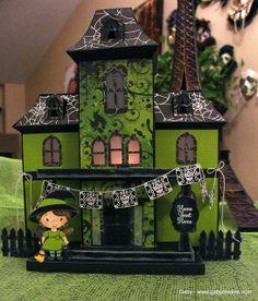 Gaby Creates: Haunted Manor | Dia De Los Muertos | DEE 2nd Anniversary