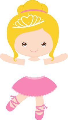 Little Girl Ballerina Clipart Little Girl Ballerina, Ballerina Dancing, Ballerina Birthday Parties, Girl Birthday, Girl Silhouette, Cute Clipart, Cartoon Characters, Paper Dolls, Tutu