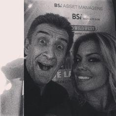 #CostanzaCaracciolo Costanza Caracciolo: E' lui o non e' luiii??? Certooo che e' luiiii @ezio_greggio #festival #cinema #montecarlo #twiga @creatshimeon ❤️❤️❤️