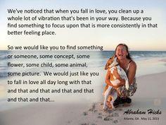 #AbrahamHicks #Vibrations #Love