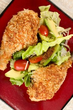 Oven fried Panko Chicken recipe that uses no oil!