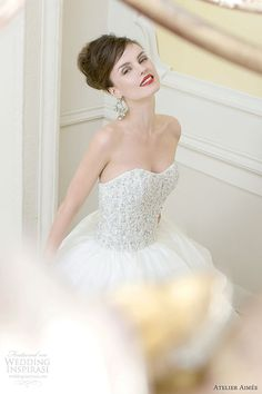 Enchanting Atelier Aimee Wedding Dresses 2014 Collection - MODwedding