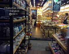 herbal oil, essential oil shop at chatuchak market bangkok