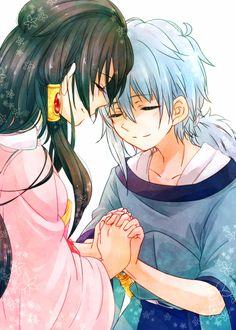 Hakuei Ren and Seishun / Magi
