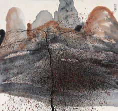 Zhu Daoping(朱 道平 Chinese, b.1949) The Autumn River