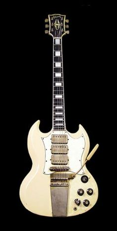 Jimi Hendrix | '67 Gibson SG Custom. by lawanda