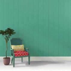 Quer trocar a cor da parede? Verdes e dourado s