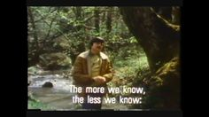 andrei tarkovsky : 'the more we know, the less we know.'
