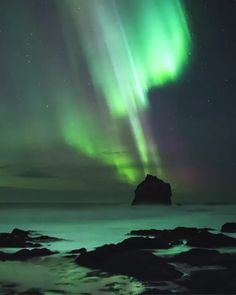 Beautiful view of Aurora Borealis - Tour to Planet - Beautiful view of Aurora Borealis - Beautiful Nature Scenes, Beautiful Landscapes, Winter Scenery, Lofoten, Beautiful Places To Travel, Natural Phenomena, Nature Pictures, Wonders Of The World, Travel Destinations