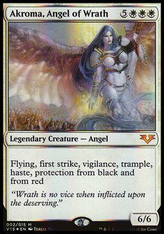 x1 Angel Token FOIL MTG Modern Horizons Magic M//NM English