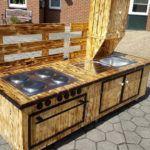 Upcycled Pallet Mud Kitchen