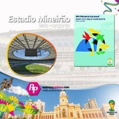 #Brasil2014 || Conoce el Estadio Mineirao  + Poster + Ciudad + Partidos que albergará  >>http://goo.gl/yAR4dU