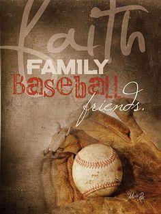 Faith Family Baseball by Marla Rae – Sport is lifre Baseball Crafts, Sports Baseball, Baseball Stuff, Baseball Nails, Baseball Live, Baseball League, Baseball Shirts, Baseball Couples, Baseball Boyfriend