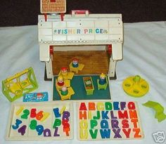 Little People school - was my older sister's so the letters were long gone by my time