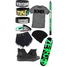 Summer All Time Low by carlile-babe on Polyvore featuring polyvore, fashion, style, Converse, Vans and Ardency Inn