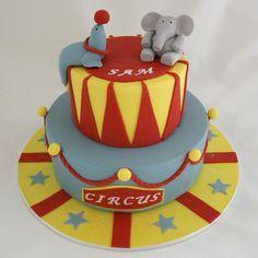 circus cake single tier - Google Search