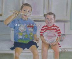 Does someone on your list have adorable kids? How about a pastel portrait starting at $140 when you use code 201420 at checkout. http://www.jillraefinallyart.com/custom-prints.php