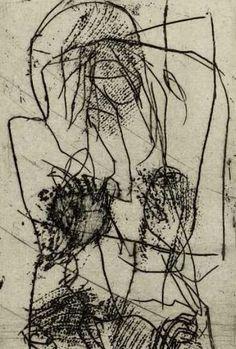 Emil Schumacher (1912-1999) was een Duitse schilder. Tijdens de oorlogsjaren was hij technisch tekenaar in een Hagener wapenfabriek. Direct na de oorlog, begint hij een nieuw begin als freelance kunstenaar. Hij begon met kubistische landschappen en was mede-oprichter van de kunstenaars vereniging Young West. In de jaren 50, ontwikkelde hij  abstracte, kleurige werken.