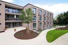 Veronica House Elderly Care Facility,Courtesy of f m b architekten
