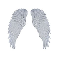 Angel Wings Sew On Clothes Patches by 99Crowncat - Cute Necklaces, Chokers, MakeUp Tools and Slippers Name  AngelWings Sew On Clothes PatchesMaterial ClothColor  Gold or SilverQTY 1Set Size See Picture
