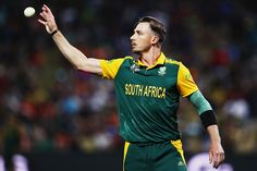 Dale Steyn conceded 64 runs in his nine overs, South Africa v Zimbabwe, Group B, World Cup 2015, Hamilton, February 15, 2015