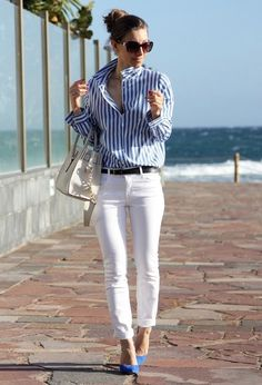 Gorgeous casual chic look
