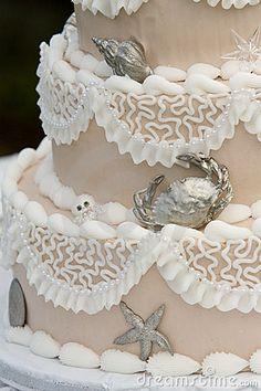 Unique Wedding cake by Trevor Allen, via Dreamstime