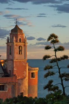 Tellaro. This was the view from our balcony!