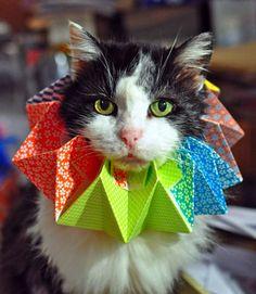 A Perfect Origami Fashion Accessory