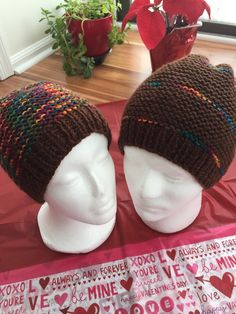 Items similar to Handmade knit winter accessories for men hats beanies on  Etsy 5124b79c0243