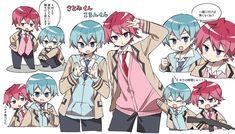 Anime Neko, Anime Boy Zeichnung, Vocaloid, My Idol, Geek Stuff, Kawaii, Fan Art, Manga, Drawings