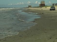 PHOTO: Tar balls are washing ashore on Texas beaches, near Mustang and Padre Islands