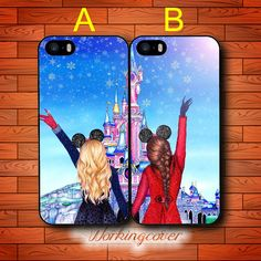 Coque Brunette Blonde Best Friends Drop Shipping Case for iPhone 7 6S 6 5S SE 5 5C 4S 4 Plus Case Cover for iPod Touch 6 5 Case.