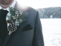 Winter Wedding Flowers, Wedding Colors, Winter Weddings, Got Married, Getting Married, Winter Boutonniere, Wedding Season, Wedding Day, Wedding Stuff