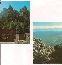 Montserrat, santa Cecilia y vistas generales. Sin circular.