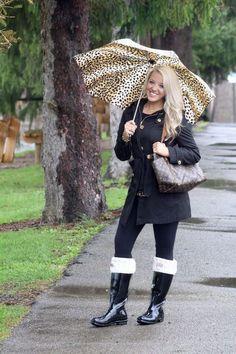 April Showers Bring… Cute Rain Boots. | Adventure á la Mode