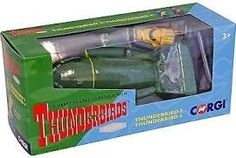 Cc00802 Corgi Thunderbirds Tb2 & Tb4 Die-cast Models & Boxed Gift Set